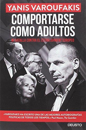 Comportarse como adultos (Sin colección) - Libro de Varoufakis - Economía Mundial
